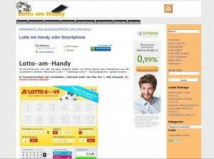 Lotto am Handy
