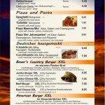 Gastronomie Nachtkarte